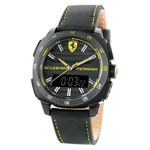 F1 AERO EVO WATCH ANALOGICO/DIGITALE BLACK 46MM
