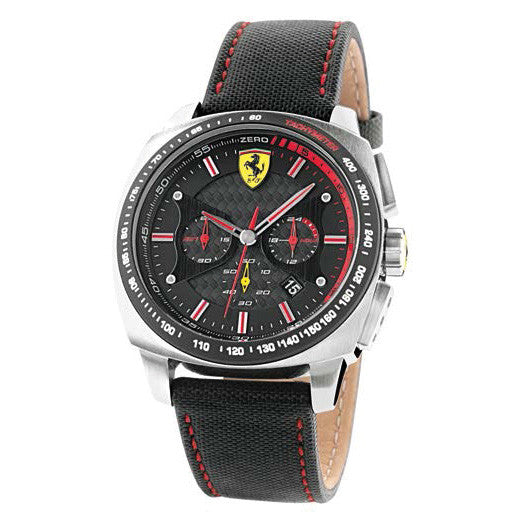 F1 AERO EVO WATCH CRONO BLACK 46MM