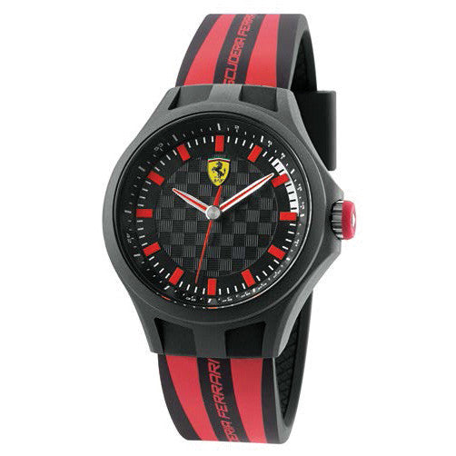 F1 PIT CREW WATCH RED/BLACK 38MM