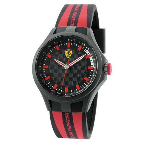 F1 PIT CREW WATCH RED/BLACK 44MM