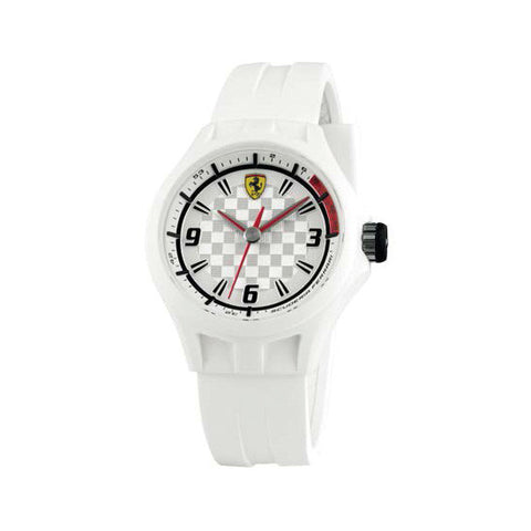 F1 PIT CREW WATCH WHITE 38 MM