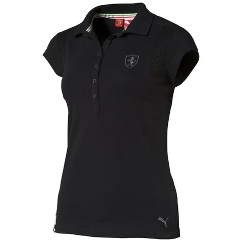 FERRARI POLO Black WMN