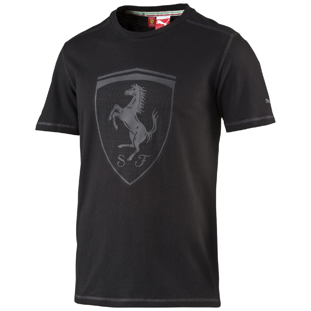 FERRARI SHIELD TEE Black