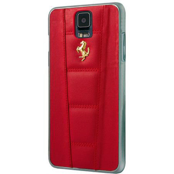 FERRARI 458 COVER GALAXY S5 LEATHER Red