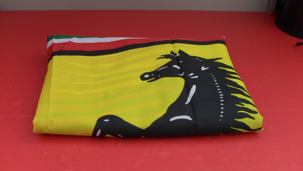 Ferrari Flag Scudetto