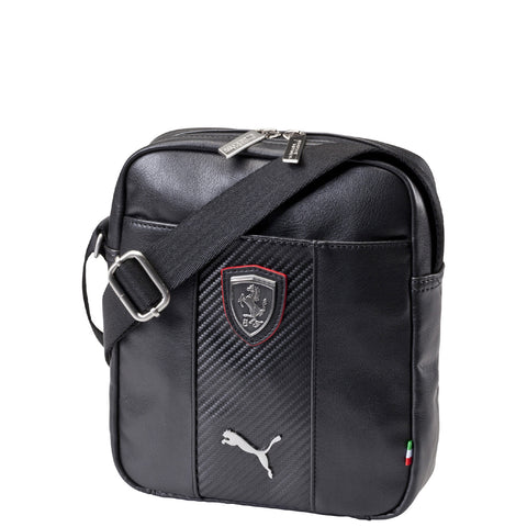 FERRARI LS MAGAZINE BAG Black