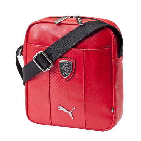 FERRARI LS MAGAZINE BAG Red