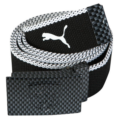 FERRARI REPLICA BELT Black - White