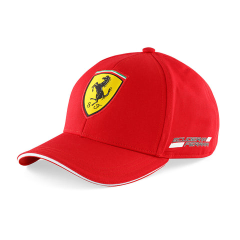 Ferrari Cap Kids Red