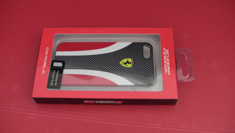 SCUDERIA CARBON HARD CASE Red