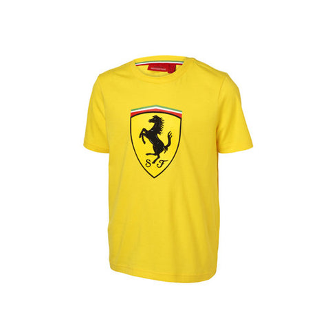 KIDS T-SHIRT SHIELD Yellow