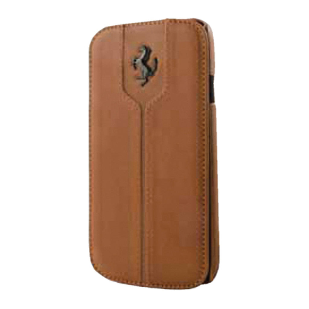 MONTECARLO FLAPCASE BOOKTYPE LEATHER Camel