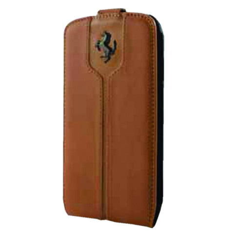 MONTECARLO FLAPCASE LEATHER Camel