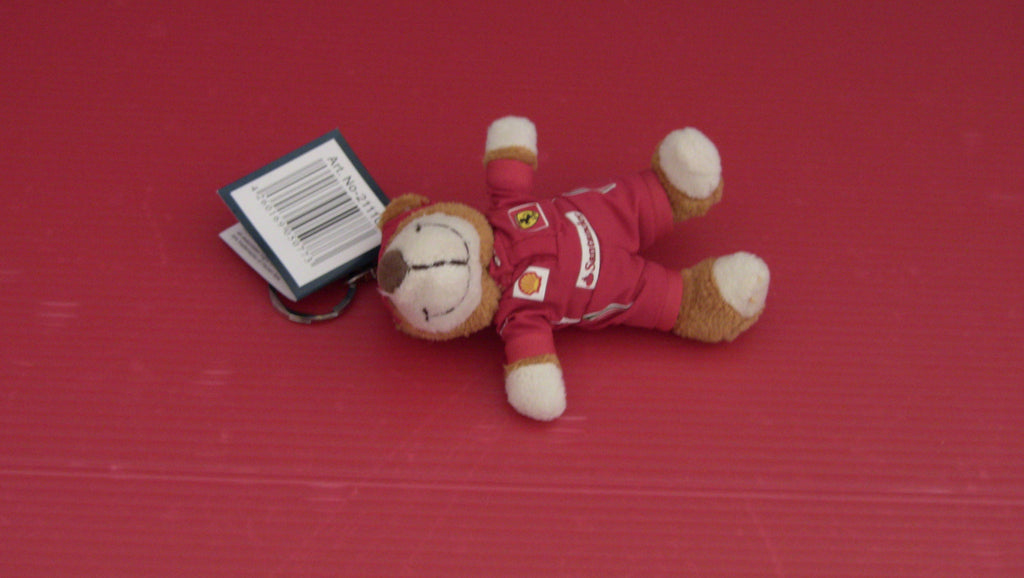 Key Ring Peluche Ferrari