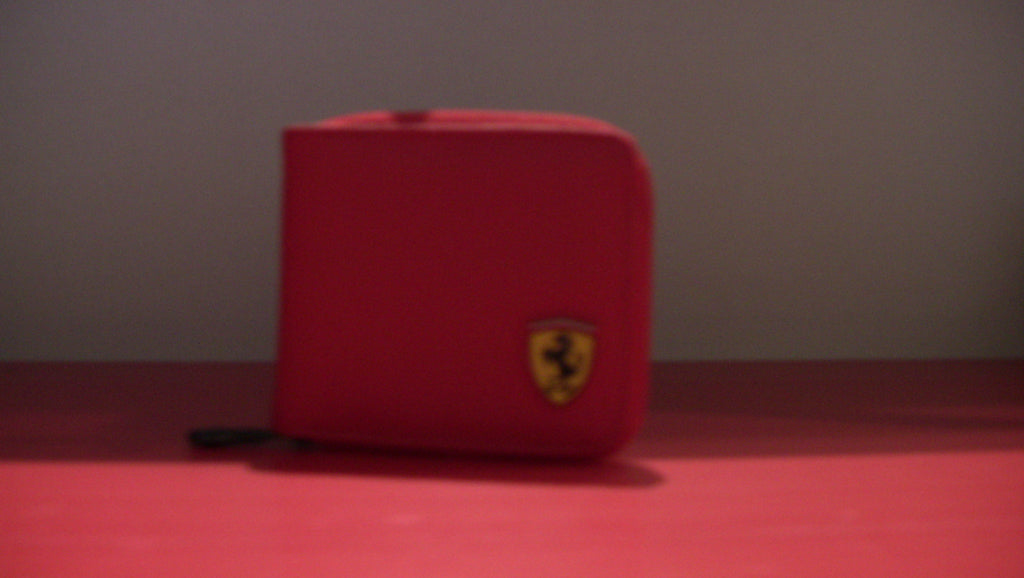 Ferrari Red Wallet
