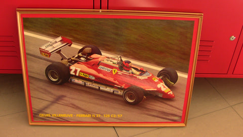 Poster Villeneuve With Frame 48x70cm