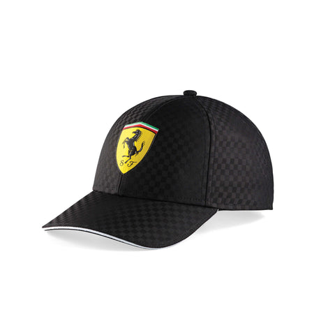 RACING CAP CHECK Black