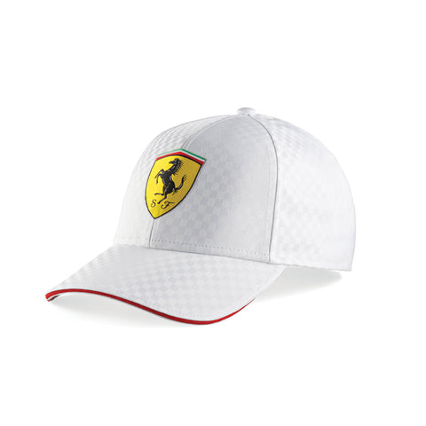 RACING CAP CHECK White