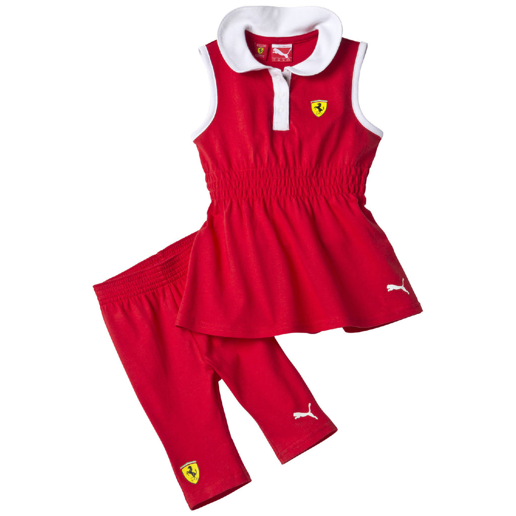 SF INF GIRLS SET Rosso Corsa