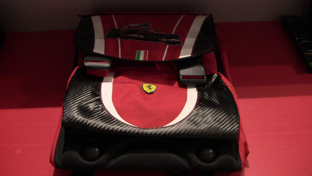 Extensible Ferrari Backpack