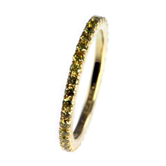 Yellow Diamond Eternity Ring, Handmade by Jana Reinhardt Ltd