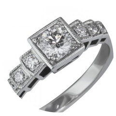 grain set diamond