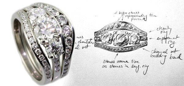 Handmade Engagement Rings by Jana Reinhardt Jewellery,  London UK