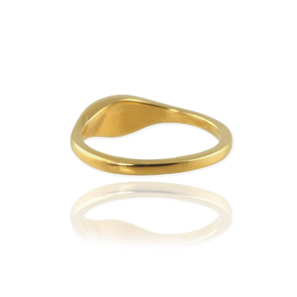 Ellipse Signet Ring - Jana Reinhardt Ltd - 5