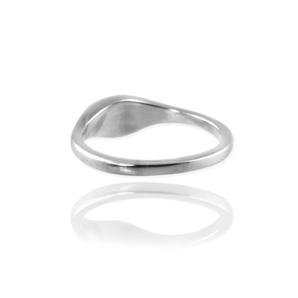 Ellipse Signet Ring - Jana Reinhardt Ltd - 6