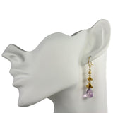 Rock Flower Drop Earrings - Jana Reinhardt Ltd - 2