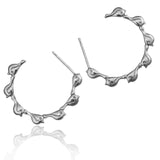Bird Creole Hoop Earrings - Jana Reinhardt Ltd - 4
