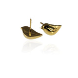 Gold Sparrow Ear Studs - Jana Reinhardt Ltd - 4