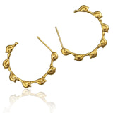 Bird Creole Hoop Earrings - Jana Reinhardt Ltd - 2
