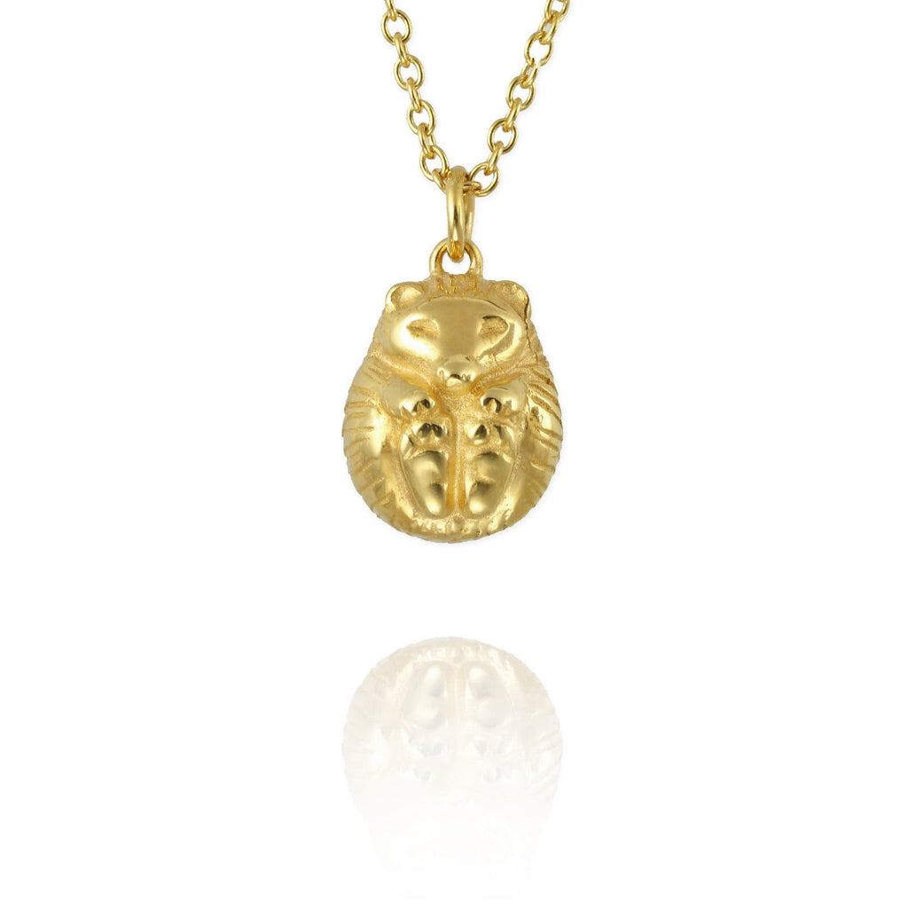 Hibernating Hedgehog Necklace - Jana Reinhardt Ltd - 4
