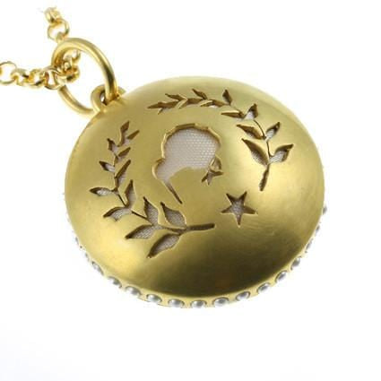 Kiwi Pendant Necklace