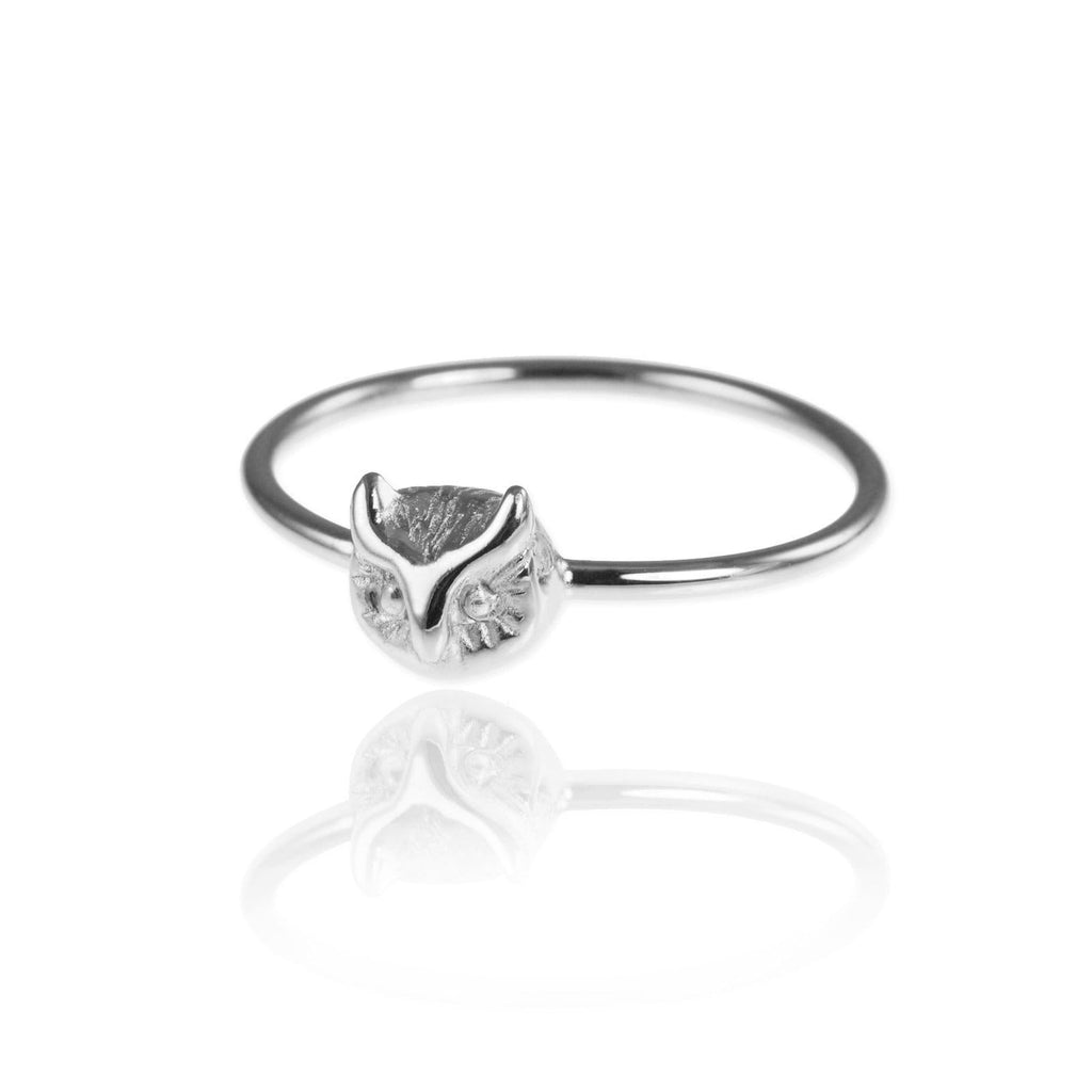 Tiny Owl Ring - Jana Reinhardt Ltd - 1