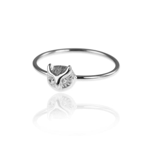 Tiny Owl Ring