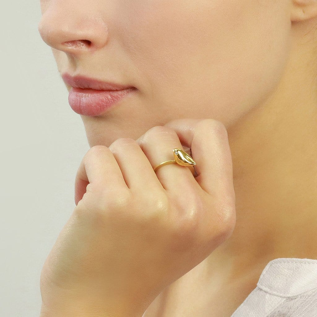 Gold Sparrow Ring