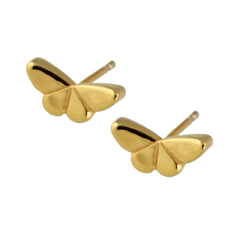 Butterfly Ear Studs without Gemstones