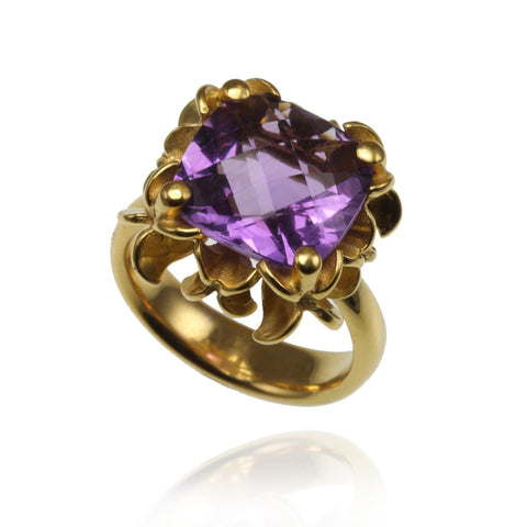 Big Rock Flower Ring