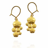 Flower Hook Earrings - Jana Reinhardt Ltd - 4