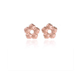 Halo Flower Ear Studs - Jana Reinhardt Ltd - 1