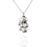 Flower Pendant Necklace - Jana Reinhardt Ltd - 3