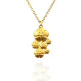 Flower Pendant Necklace - Jana Reinhardt Ltd - 1