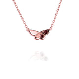 Butterfly Charm Necklace with Rubies - Jana Reinhardt Ltd - 2