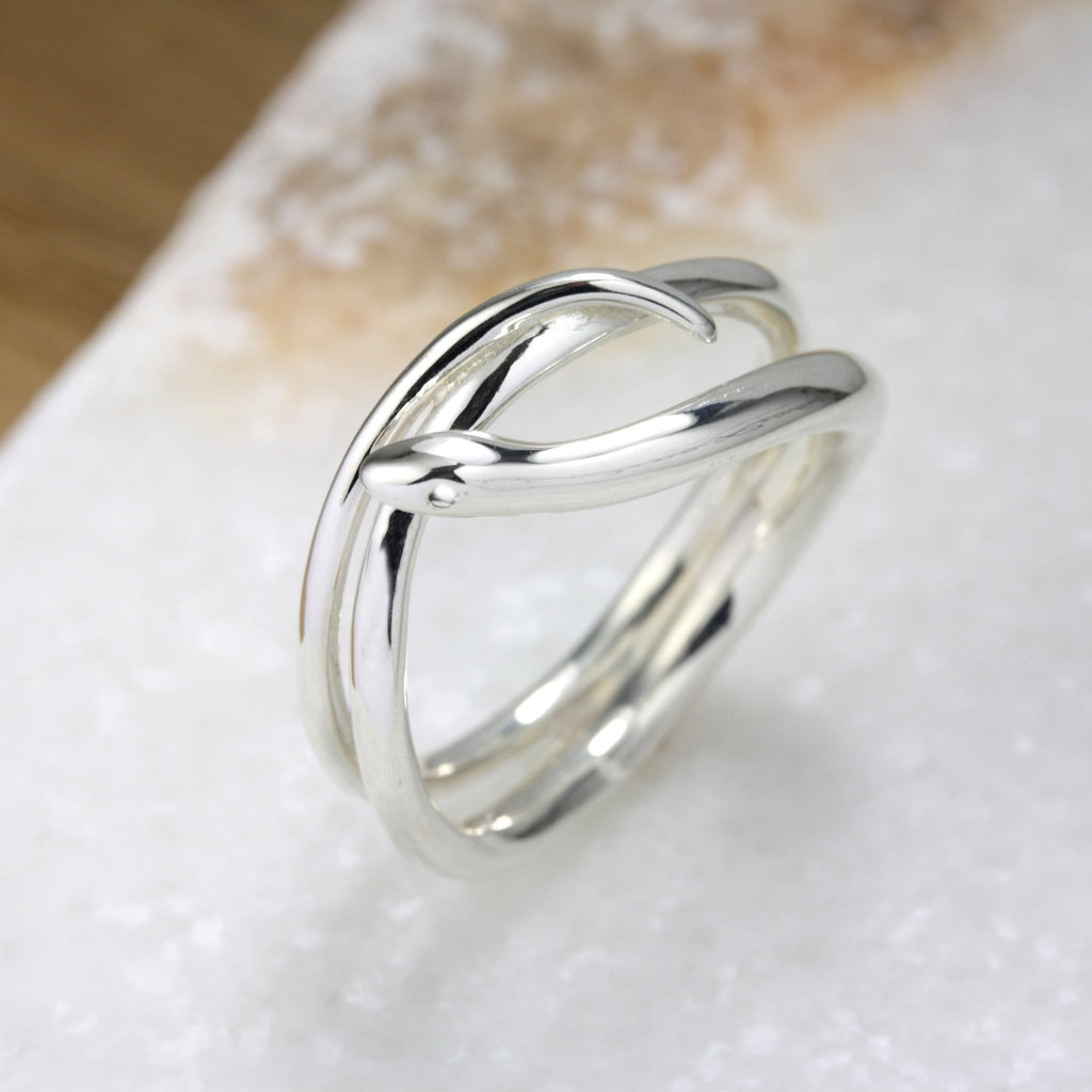 Coiled Snake Ring - Jana Reinhardt Ltd - 5