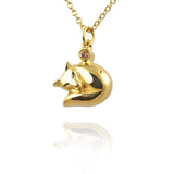 Fox Pendant Necklace - Jana Reinhardt Ltd - 1