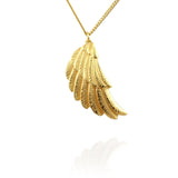 Wing Pendant Necklace - Jana Reinhardt Ltd - 1