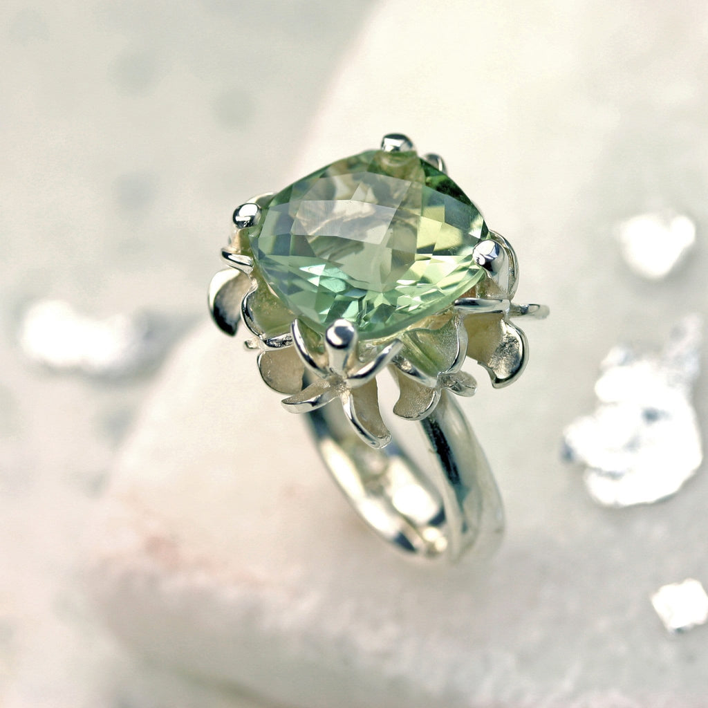 Big Rock Flower Ring - Jana Reinhardt Ltd - 5