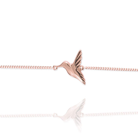 Tiny Hummingbird Bracelet